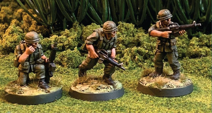 All figures are 28mm scale unpainted White Metal miniatures.