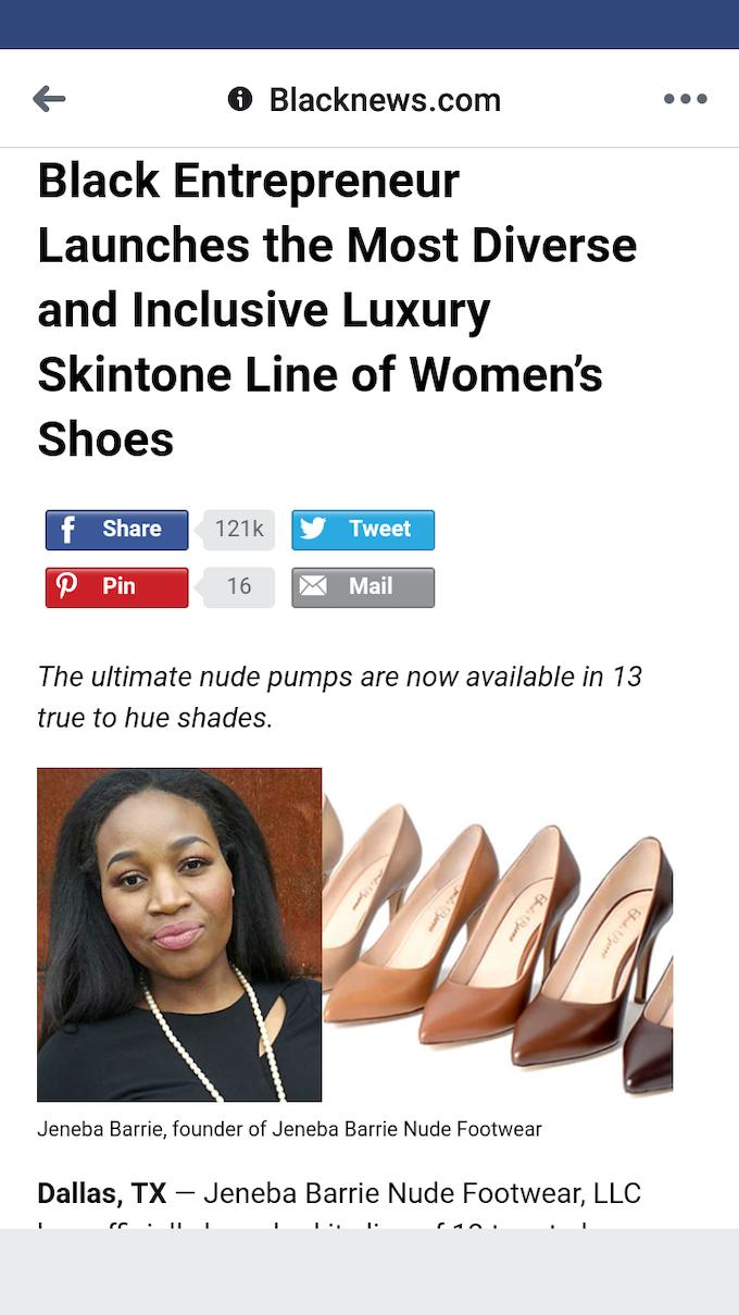 6bc8f686ca Jeneba Barrie: Nude Footwear that is True to Hue by Jeneba Barrie ...