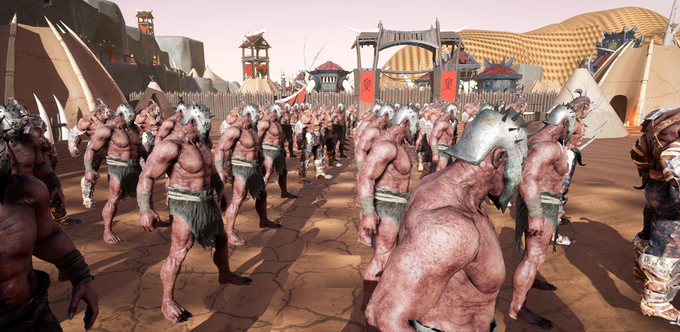 Massive Orc Army