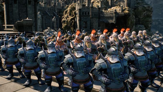 Dwarf Generals, Paladin & Wizards