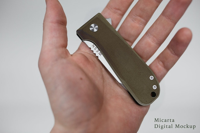 WESN Allman Limited Edition Micarta - Add $20 to your pledge to reserve one.