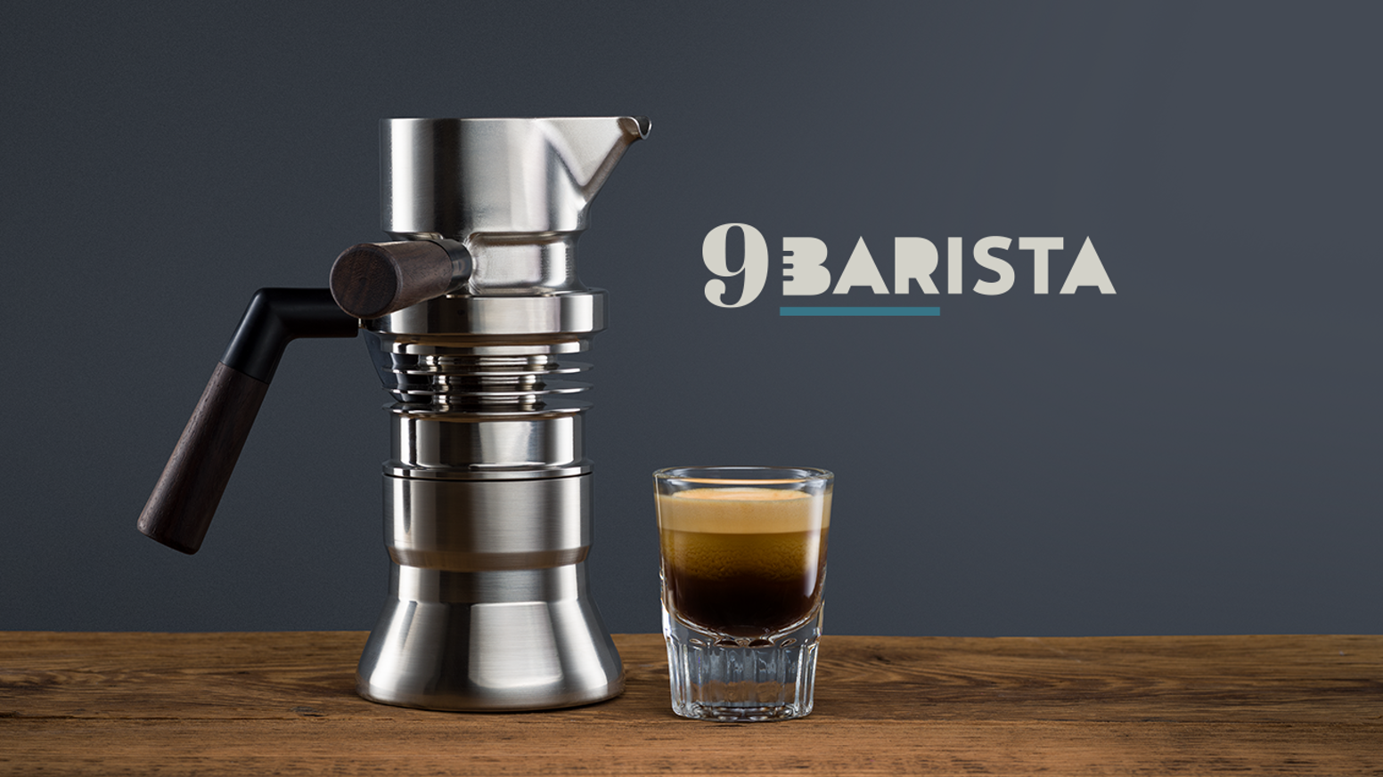 The first jet-engineered stove top espresso machine