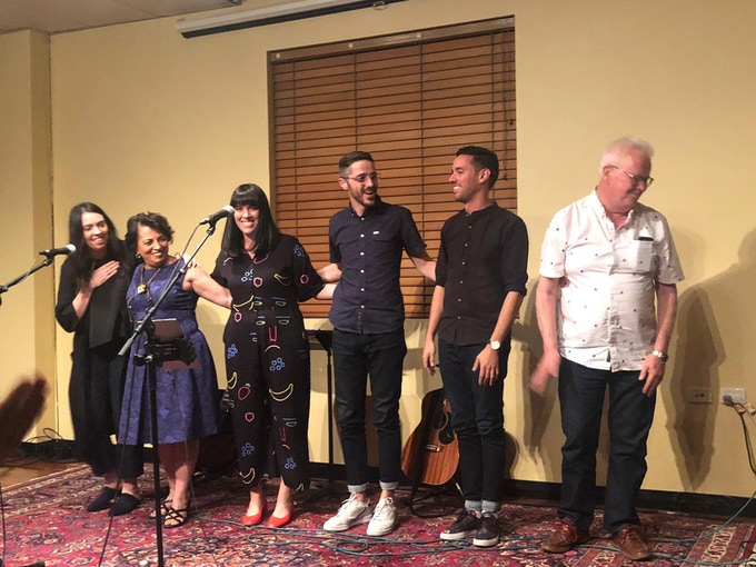 The Toloui-Wallace Family at our most recent concert in Brisbane, Australia.