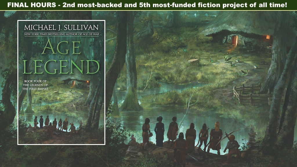 Fantasy Novel: Age of Legend by Michael J. Sullivan project video thumbnail