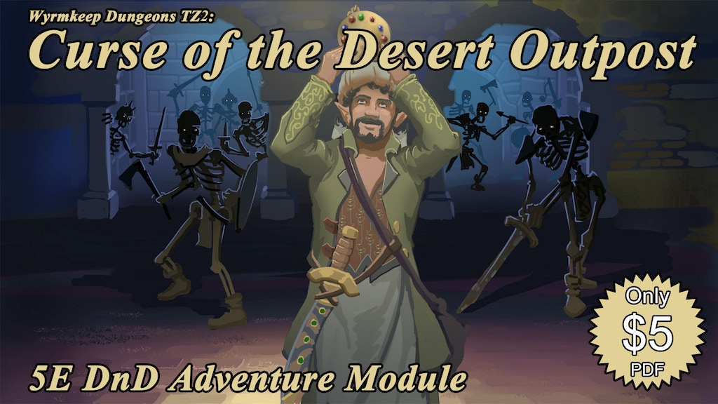 Wyrmkeep Dungeons TZ2: Curse of the Desert Outpost project video thumbnail