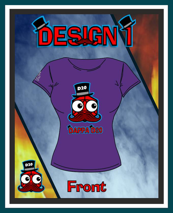 Design 1 Female Front