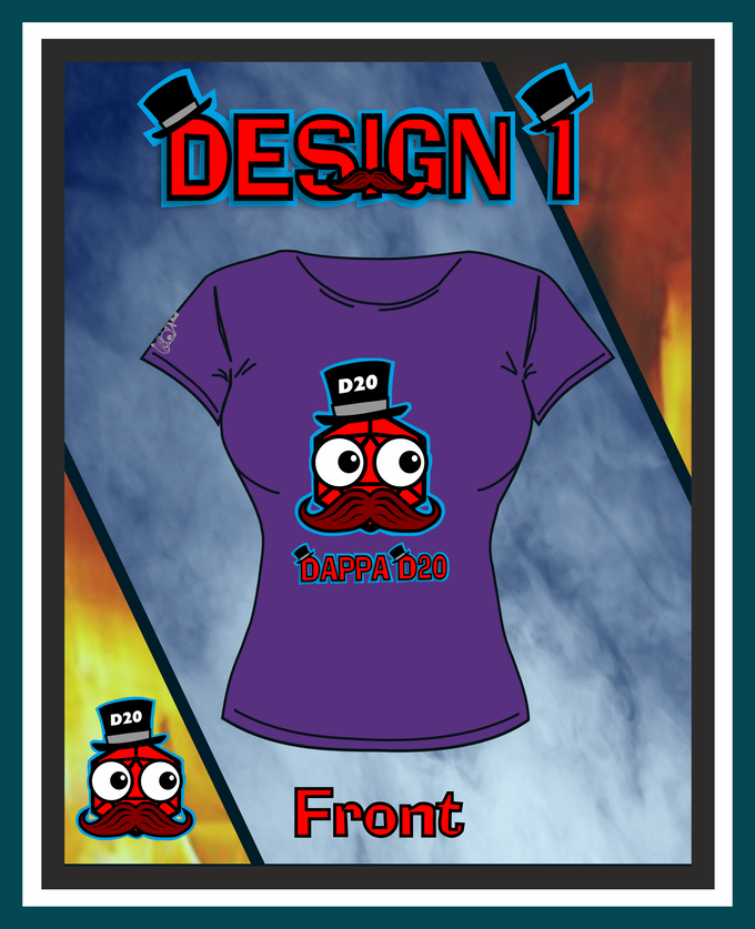 Design 1 Female Front