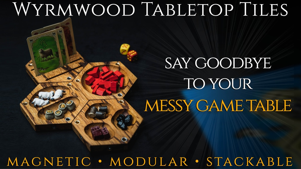Wyrmwood Tabletop Tiles project video thumbnail