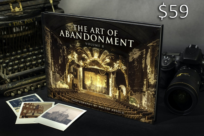 Art of Abandonment photo book Volume II