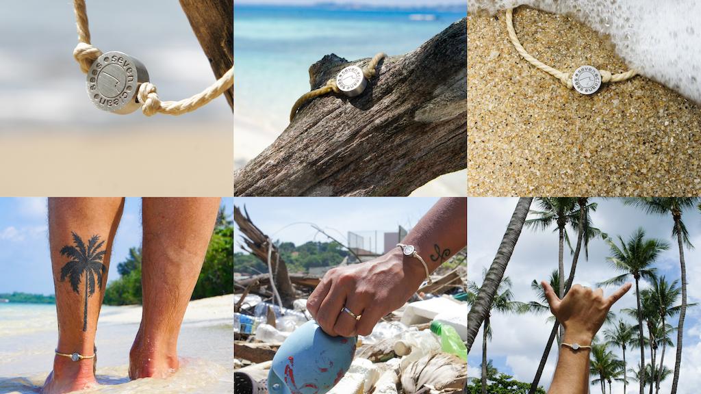 Seven Clean Seas Bracelet - Removes 0.5kg Ocean Plastic project video thumbnail