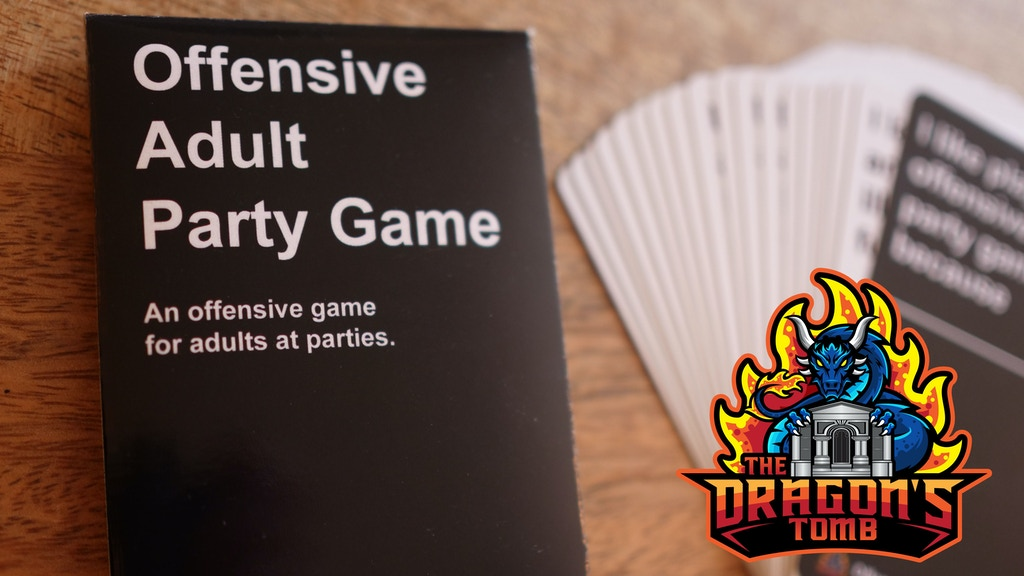Offensive Adult Party Game || by The Dragon's Tomb project video thumbnail