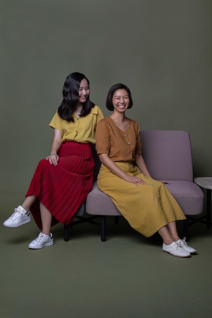 Celine (left) & Silvia (right)