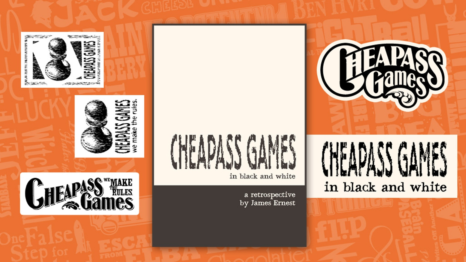 A retrospective of 22 years of Cheapass Games, more than 100 titles in a handsome hardcover book.
