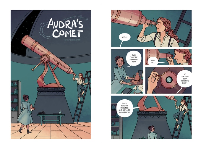 """AUDRA'S COMET"" by Emily Cheeseman"