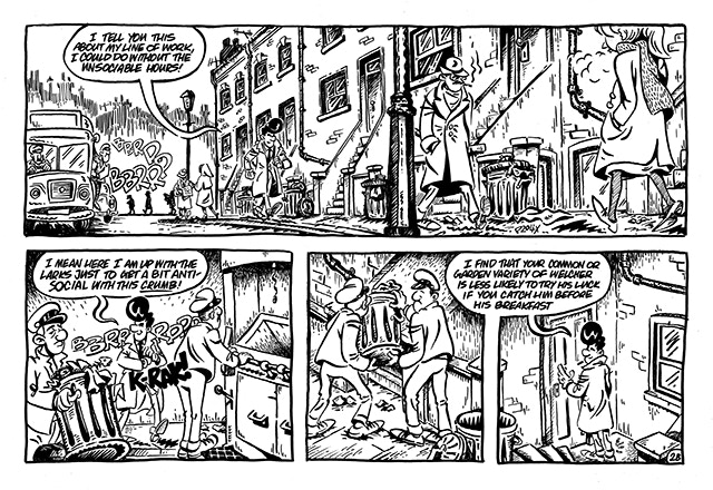 "A Slice-of-Life Comic, ""Sixties London Life!"""
