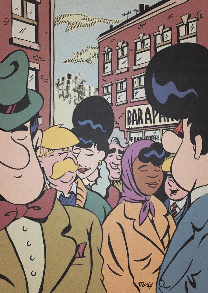 Kickstarter Exclusive A4 full-colour Art Print