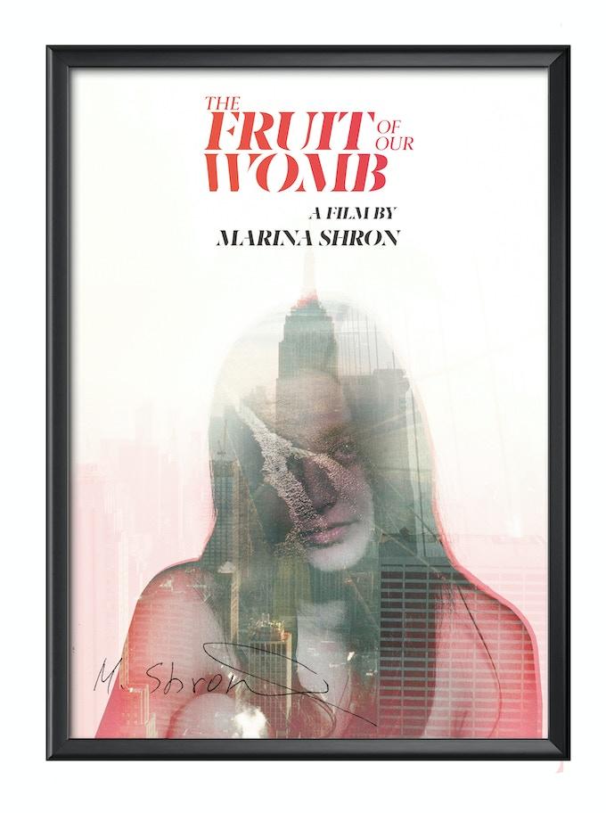 SIGNED Film Poster (Delivered unframed- August 2019)