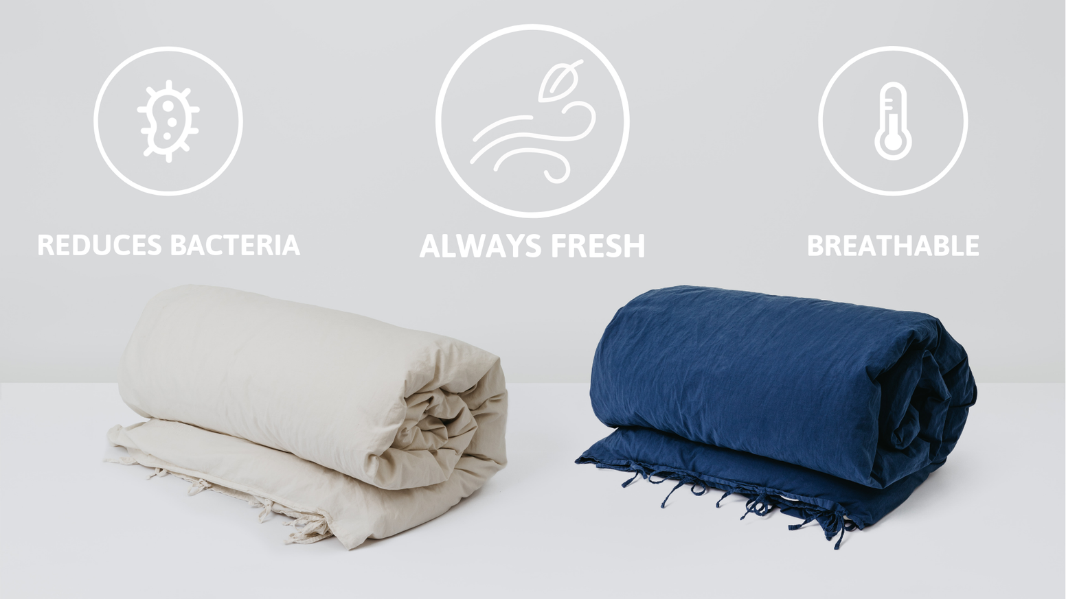 Funded in 72 hours!Dawn Nights is treated with recycled silver chloride which makes the bed linen stay fresh for longer
