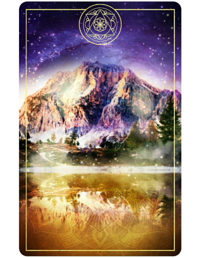 Back of the Cards from The Ark Animal Tarot & Oracle Deck