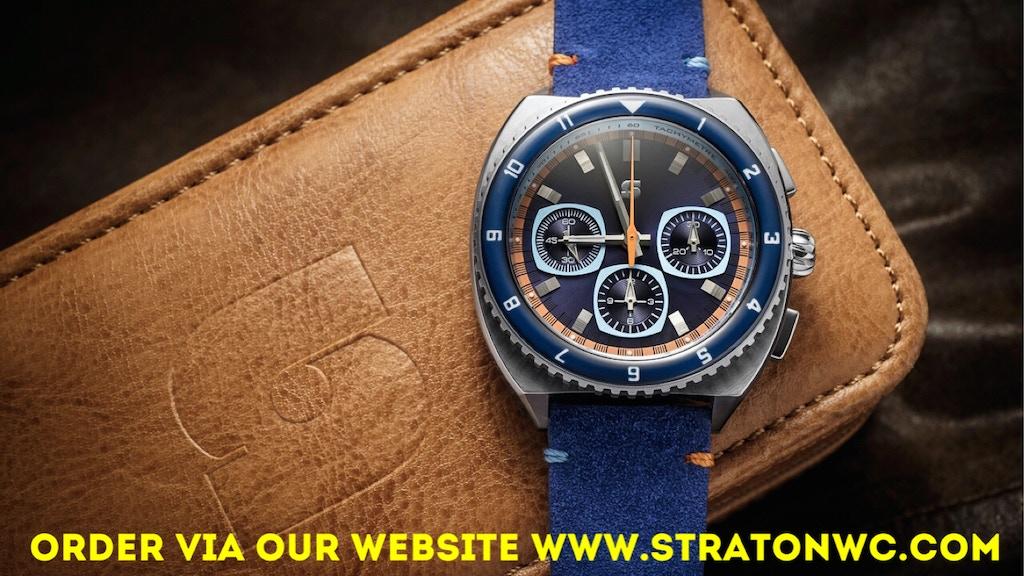 Straton Legera watch - bold retro styling! project video thumbnail