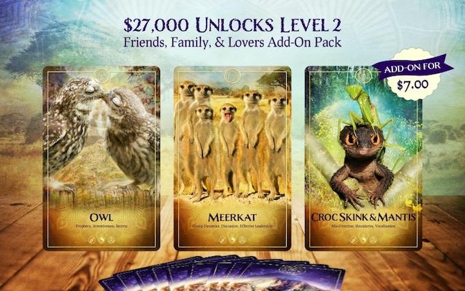 The Ark Animal Tarot & Oracle Deck by Bernadette King