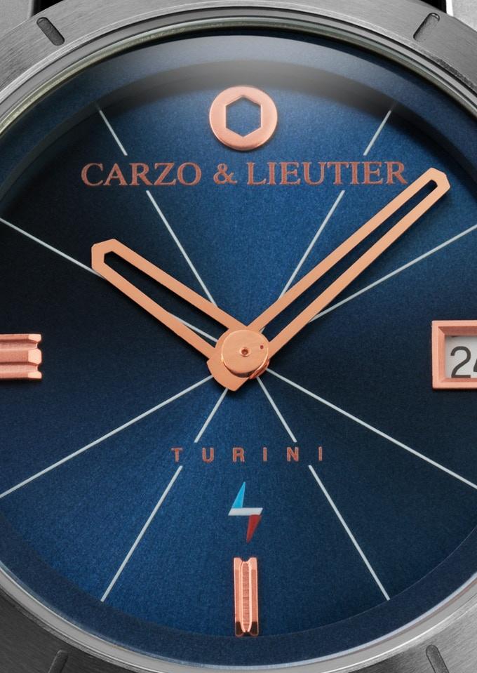 TURINI Quartz Blue Workwear & Steel