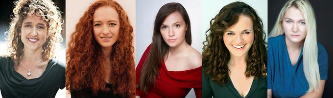 The Cast: Jami, Emily, Tiffany, Deidra, Rebecca