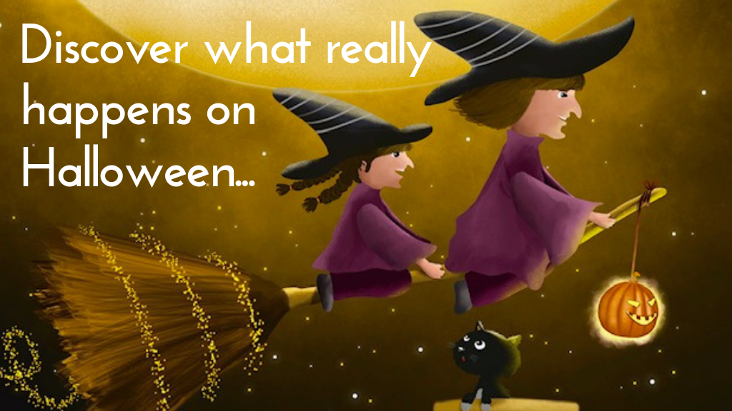 When the Clock Strikes on Halloween: A Cute Rhyming Tale project video thumbnail