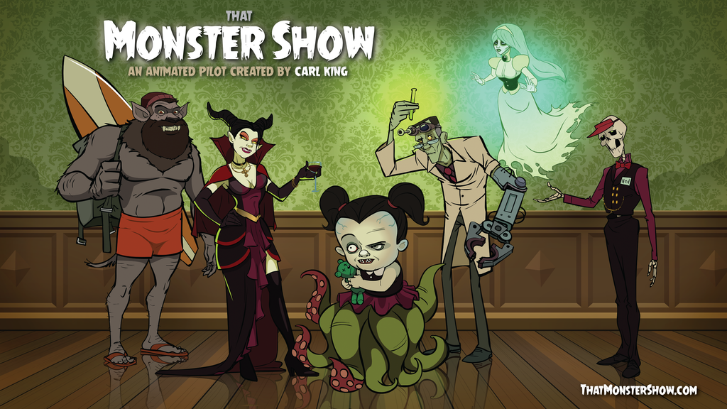 That Monster Show - Adult-Swim-Style Animated TV Show project video thumbnail