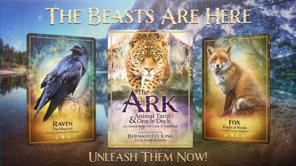 The Ark Animal Tarot & Oracle Deck project video thumbnail