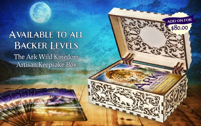 The Ark Wild Kingdom Artisan Keepsake Wooden Box