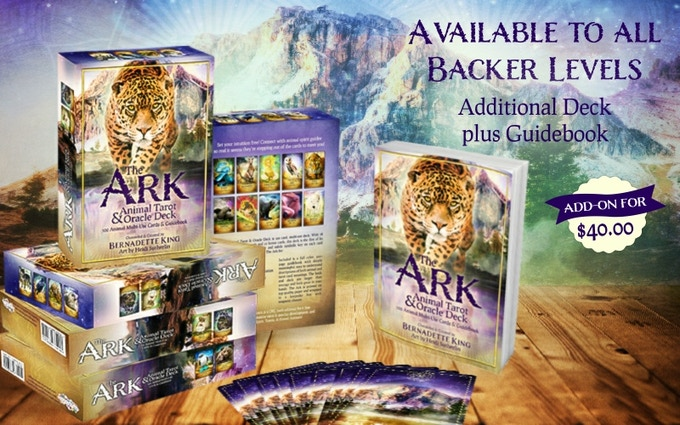 The Ark Animal Tarot & Oracle Deck and 300+ page, full-color guide book.