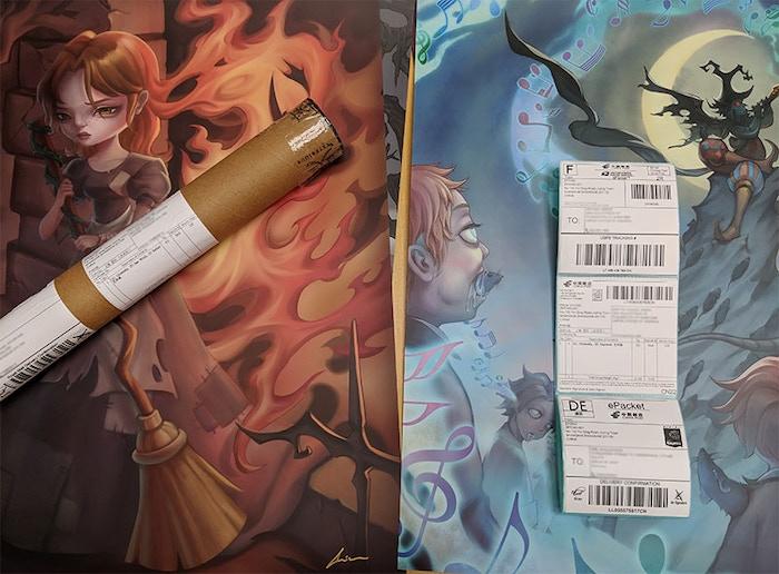 Art Print Shipping