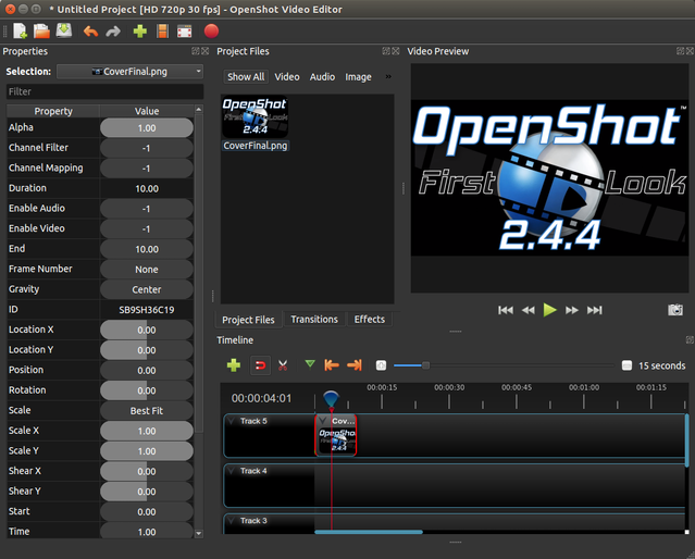 OpenShot Video Editor for Windows, Mac, and Linux by Jonathan Thomas