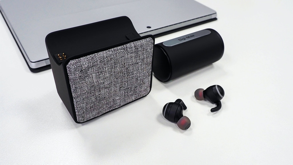 Digi-Mole Wireless Earbuds: Solid Connection & Better Sound