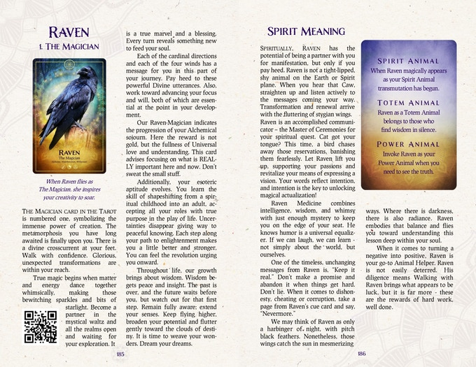 Tarot & Animal Symbolism Meaning Chapter from The Ark Animal Tarot & Oracle Deck