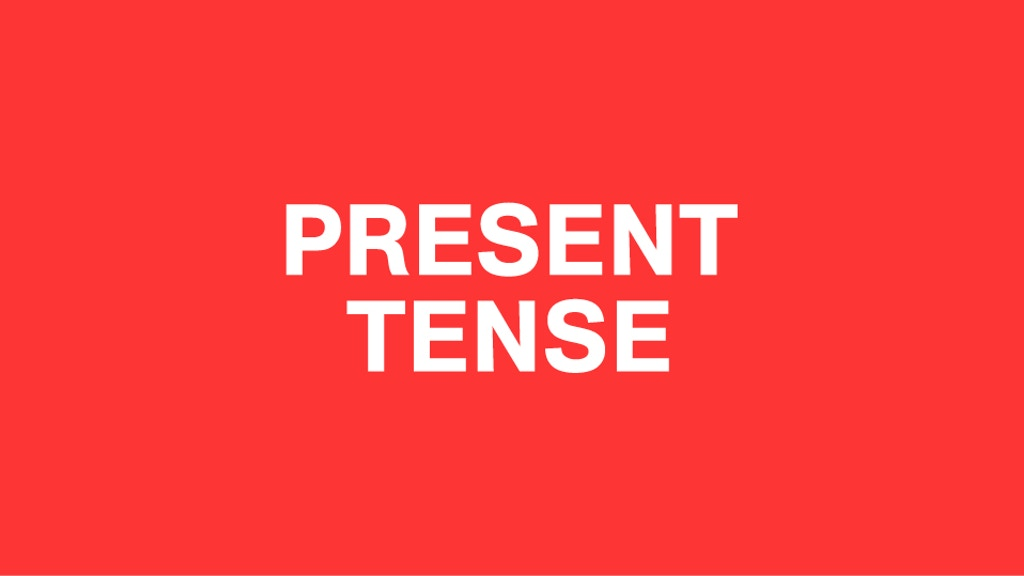 Present Tense: A New Book From The Double Negative project video thumbnail