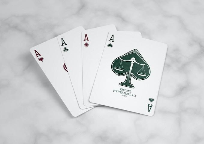 Sleek and elegant aces