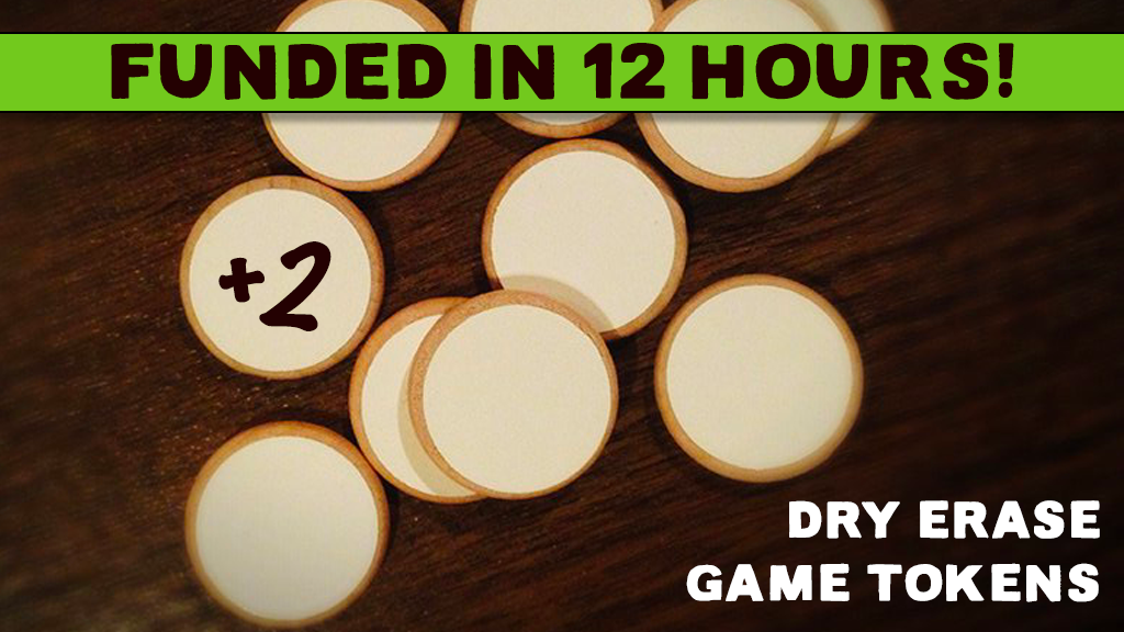 Dry Erase Game Tokens project video thumbnail
