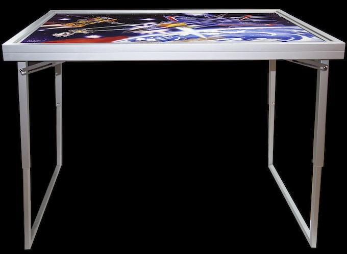 Desk Table Extended Leg Position