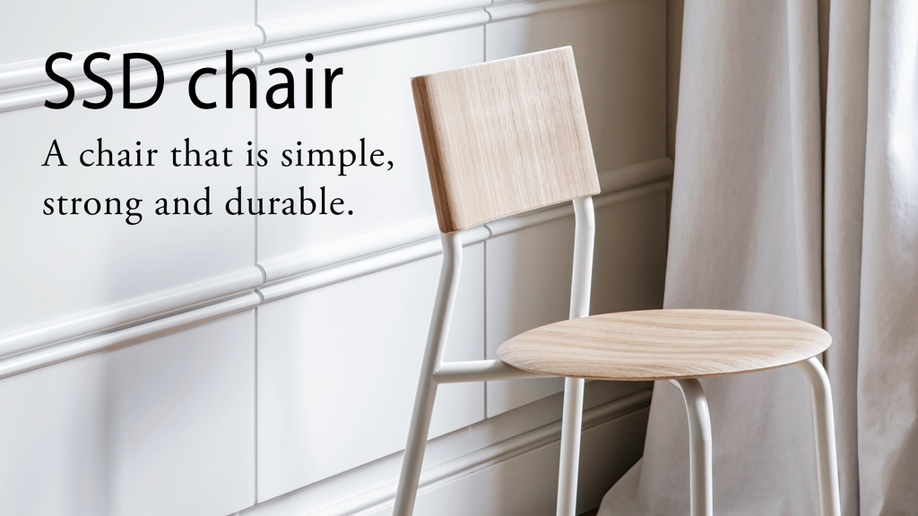 Miniature de la vidéo du projet The SSD Chair | Simple, Strong and Durable