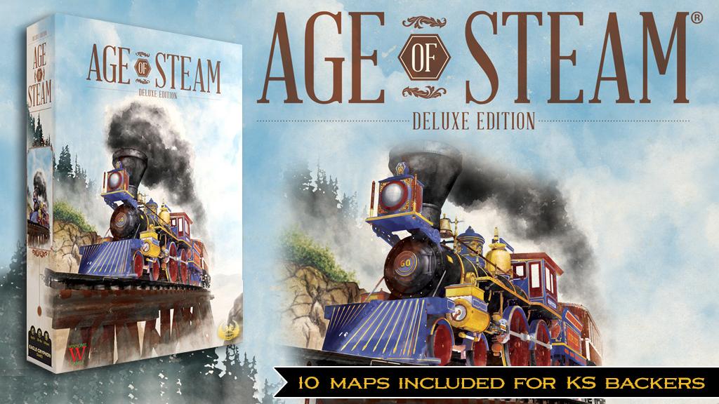 Miniature de la vidéo du projet Age of Steam: Deluxe Edition