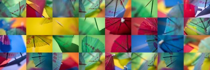 paper umbrellas, 2018