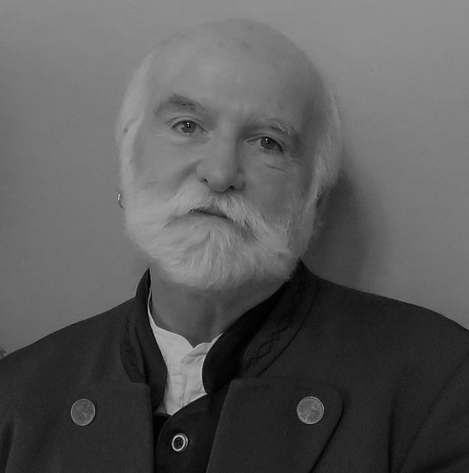 John Terlazzo, portrait by Becki Senft