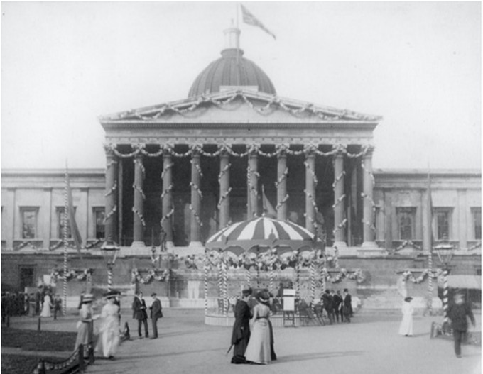 UCL Quad - Summer Fete 1909