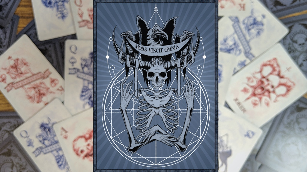 Mors Vincit Omnia - Bicycle Playing Cards project video thumbnail