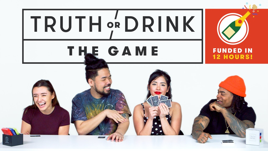 Truth or Drink: The Card Game project video thumbnail
