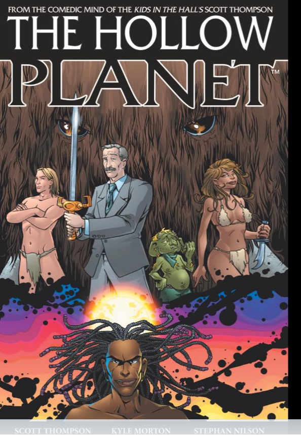Scott Thompson's graphic novel The Hollow Planet