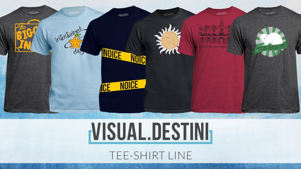 Project image for visual.destini Tee Shirt Line