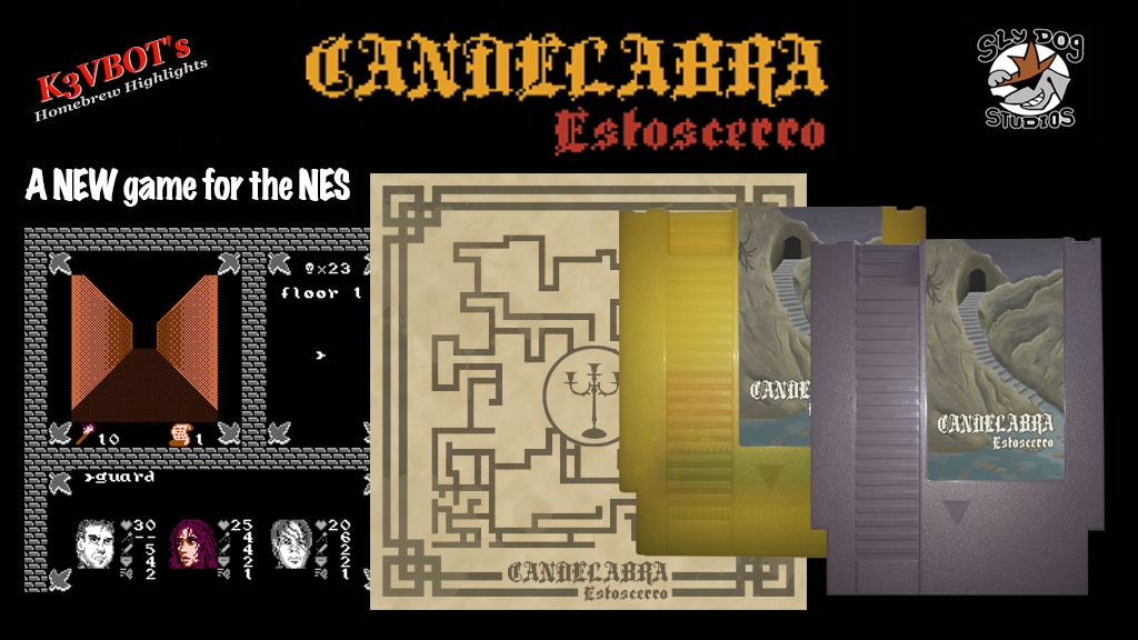 Candelabra: Estoscerro - A new game for the NES project video thumbnail